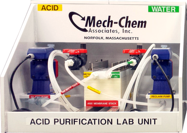 Acid Purification Lab Unit